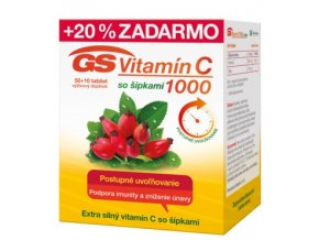 GS Vitamin C1000 60 ks