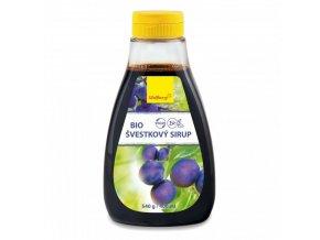 svestkovy sirup wolfberry bio 400 ml 540 g