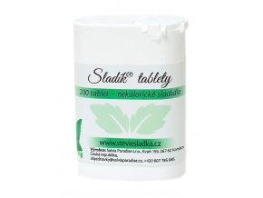 Sladík sladidlo - stévie sladká tablety