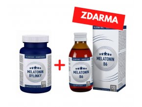 Melatonin FORTE 5 mg 100 tbl. 1+1 ZDARMA