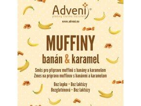 muffiny banan karamel
