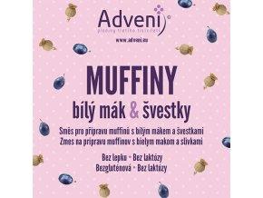 muffiny bily mak svestky
