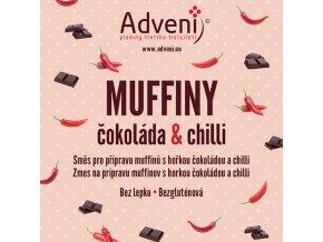 muffiny cokolada chilli