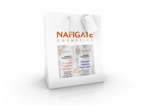Nafigate Vánoční balení hydratační denní krém + regenerační noční krém