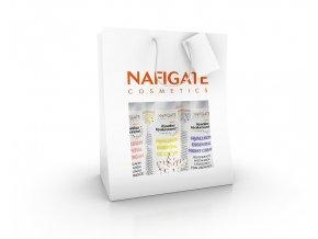 Nafigate Vánoční balení hydratační denní krém + regenerační noční krém + CC krém