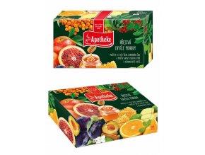 Apotheke Dárková kolekce prémiových čajů 96 n.s.