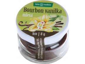 bio bourbon vanilka 15 g