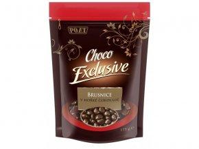 Brusinky v hořké čokoládě 175 g