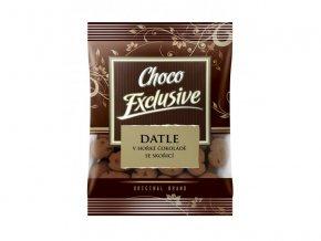 POEX Datle v hořké čokoládě se skořicí 150 g