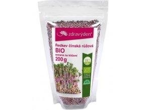 ZdravýDen® Ředkev čínská růžová BIO - semena na klíčení 200g