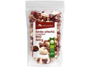ZdravýDen®  BIO Směs ořechů s mochyní 500 g