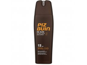 Piz Buin Sprej na opalování SPF 15 (In Sun Ultra Light Sun Spray) 200 ml