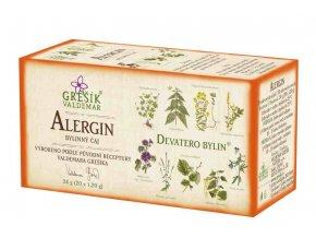 Grešík Alergin čaj n.s. 20x1,2 g Devatero bylin