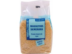 Bionebio Přírodní třtinový cukr Mauritius Demerara 500 g