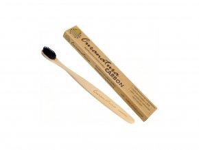 Curanatura Zdravý zubní kartáček Carbon (soft) 1 ks