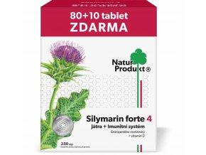 Naturprodukt Silymarin Forte 4 - Játra + Imunitní systém 90 tbl.