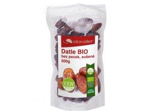 ZdravýDen® Datle BIO 500g bez pecek, sušené