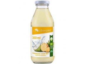 ZdravýDen®  Kokosová voda BIO s příchutí ananasu 350ml