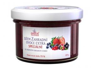 Grešík Džem Zahradní ovoce extra Speciální 220 g