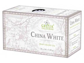 Grešík China White n.s. 20 x 2,0 ganý čaj