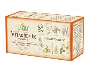 Grešík Vitakřemík porcovaný 20 x 1,2 g  Devatero bylin