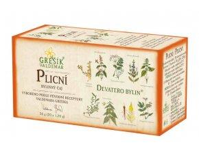 Grešík Plicní čaj porcovaný n.s. 20x1,2 g Devatero bylin