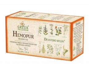 Grešík Hemopur čaj n.s. 20x1,2 g Devatero bylin