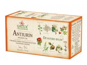 Grešík Antiurin čaj n.s. 20x1,2 g Devatero bylin