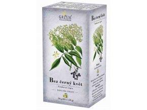 Grešík Bez černý květ čaj n.s. 20 x 1,5 g Devatero bylin