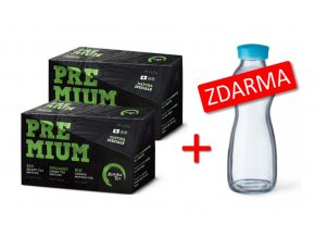 Matcha Tea BIO Premium 40 x 1,5 g + Glass Bottle 500 ml ZDARMA