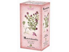 Grešík Mateřídouška čaj n.s. 20 x 1,0 g  Devatero bylin