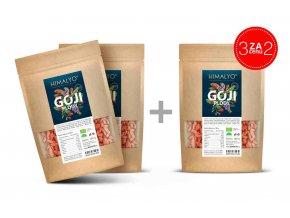 Himalyo BIO Goji Kustovnice čínská sušené plody - Exclusive 2+1 ZDARMA 3x100 g