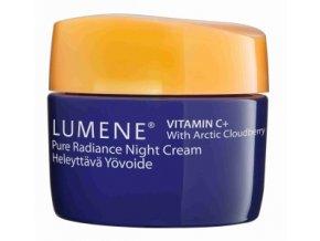Lumene Vitamin C+ Pure Radiance Night Cream Projasňující noční krém 15 ml