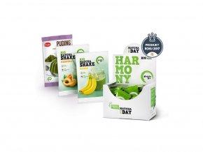 Matcha Tea BIO Harmony 30 x 2 g  + Shake meruňka + Shake banán + Puding s Matcha Tea ZDARMA