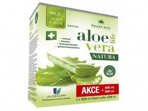 Pharma Activ AloeVeraLife Natura 1000 ml 1+1 ZDARMA (1000 ml + 1000 ml)