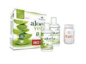AloeVeraLife 1000ml 1+1 + 2x Insulive 55cps ZDARMA
