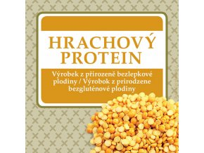 hrachovy protein 200g