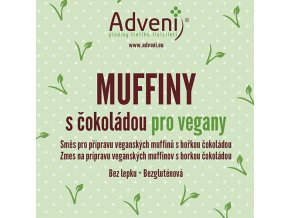 muffiny cokolada vegan