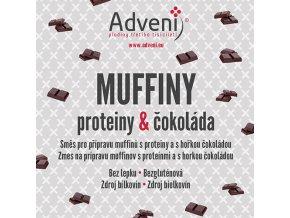 muffiny proteiny cokolada