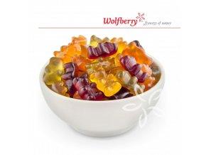 ovocne bonbony medvidci bio 75 g wolfberry miska