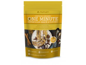 One minute snack banan neprazene kakaove boby