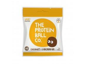 protein ball kokos makadam