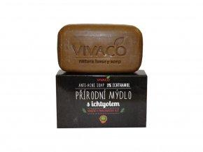 Vivaco Přírodní mýdlo s ichtyolem 100 g