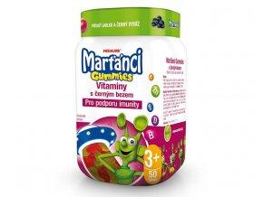 martanci gummy vitaminy s cernym bezem prichut jablko a cerny rybiz 50 ks 1450632720180722135048