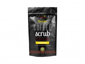 Vivaco Coffee scrub Tělový kávový peeling Svěží citrus 220 g
