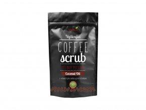 Vivaco Coffee scrub Tělový kávový peeling Kokosový olej 200 g