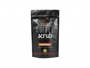 Vivaco Coffee scrub Tělový kávový peeling Med 200 g