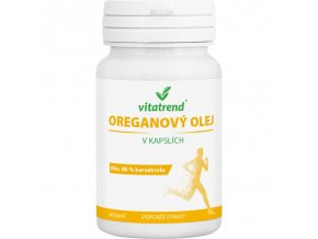 Vitatrend Oreganový olej 60 kapslí