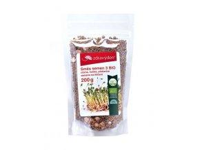 ZdravýDen® BIO Směs semen na klíčení 3 - cizrna, čočka, pískavice 200 g