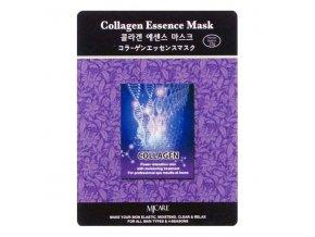 MJ Care - KOLAGEN - luxusní látková pleťová maska pro všechny typy pleti 23 g